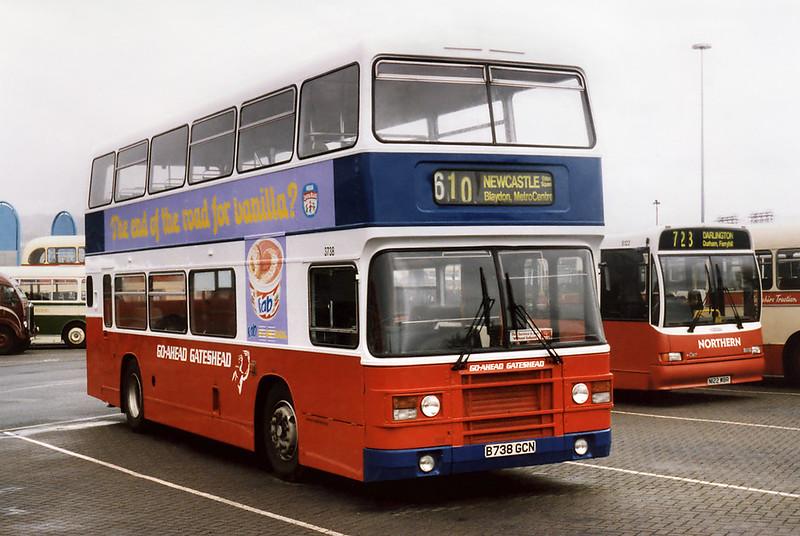 3738 B738GCN, Gateshead Metro Centre 12/5/1996