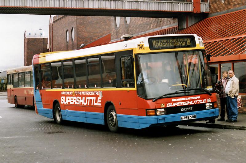 4759 K759SBB, Gateshead Metro Centre 12/5/1996