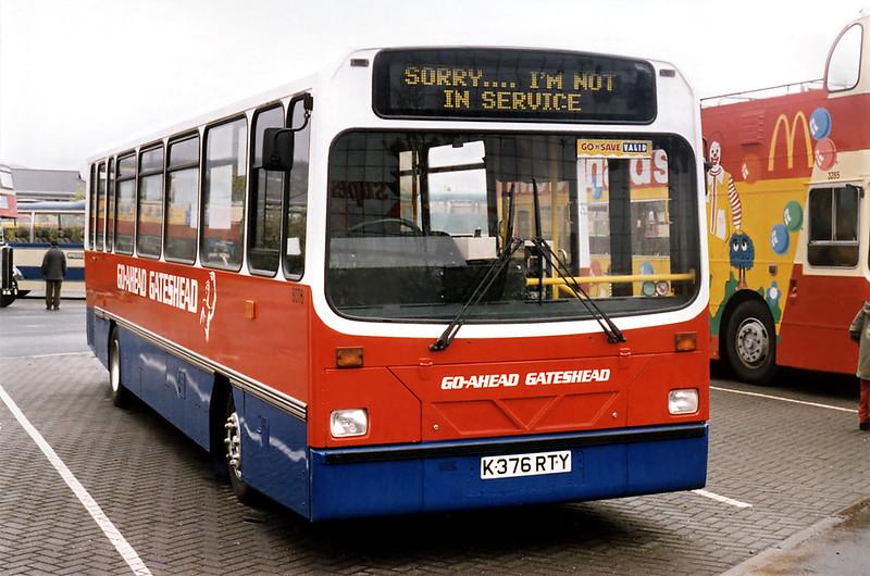 8076 K376RTY, Gateshead Metro Centre 12/5/1996