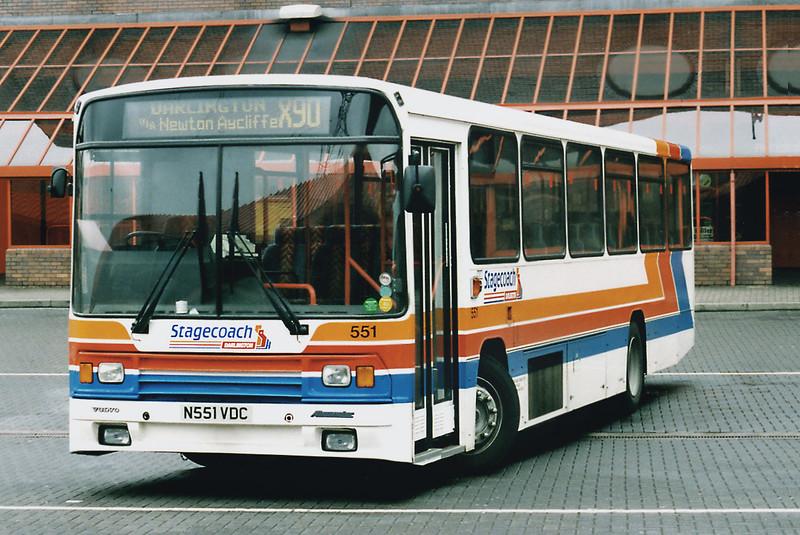 20261 N551VDC, Gateshead Metro Centre 12/5/1996
