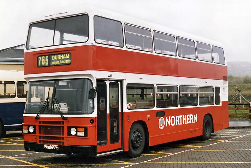 3596 JTY396X, Gateshead Metro Centre 12/5/1996
