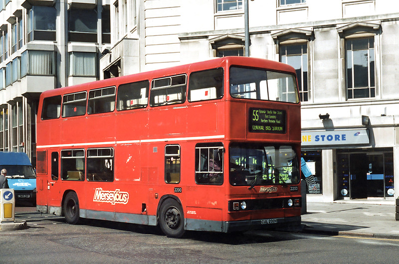 2200 CUL200V, Liverpool 13/5/1996