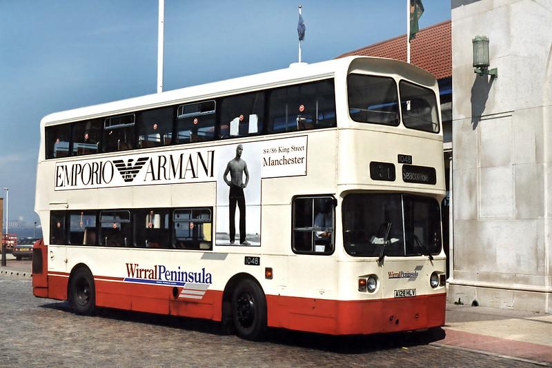 1048 A128HLV, Seacombe Ferry 13/5/1996