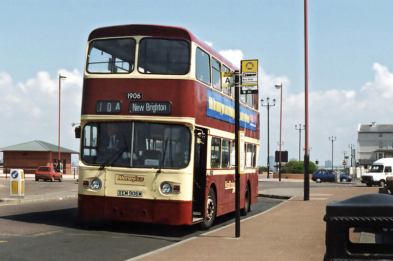 1906 XEM906W, New Brighton 13/5/1996