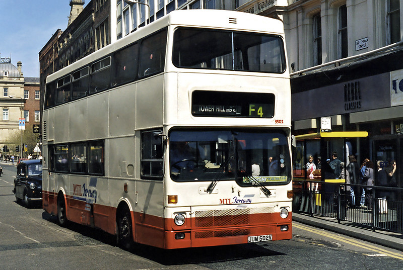 3502 JUM502V, Liverpool 13/5/1996