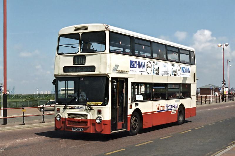 0201 E201WBG, New Brighton 13/5/1996