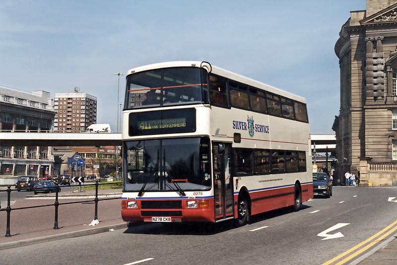 0278 N278CKB, Liverpool 13/5/1996