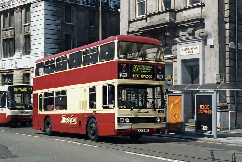 2656 NUW656Y, Liverpool 13/5/1996