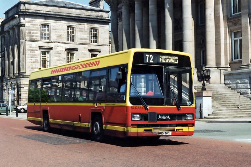 SLC851 H851GRE, Birkenhead 13/5/1996