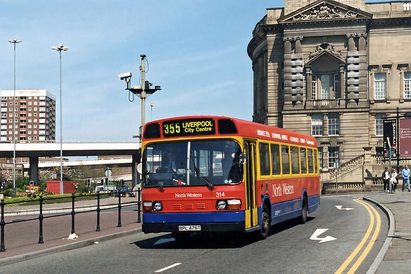 314 BPL476T, Liverpool 13/5/1996