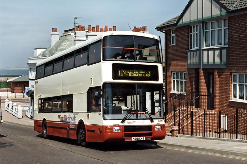 0301 N301CKB, New Brighton 13/5/1996