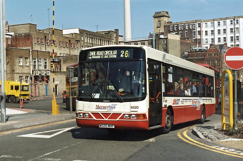 6520 M520WHF, Liverpool 13/5/1996