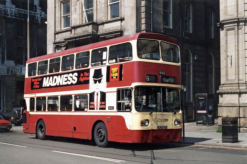 1942 ACM742X, Liverpool 13/5/1996