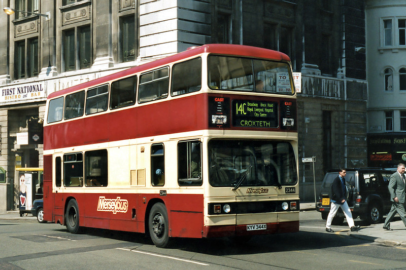2344 KYV344X, Liverpool 13/5/1996