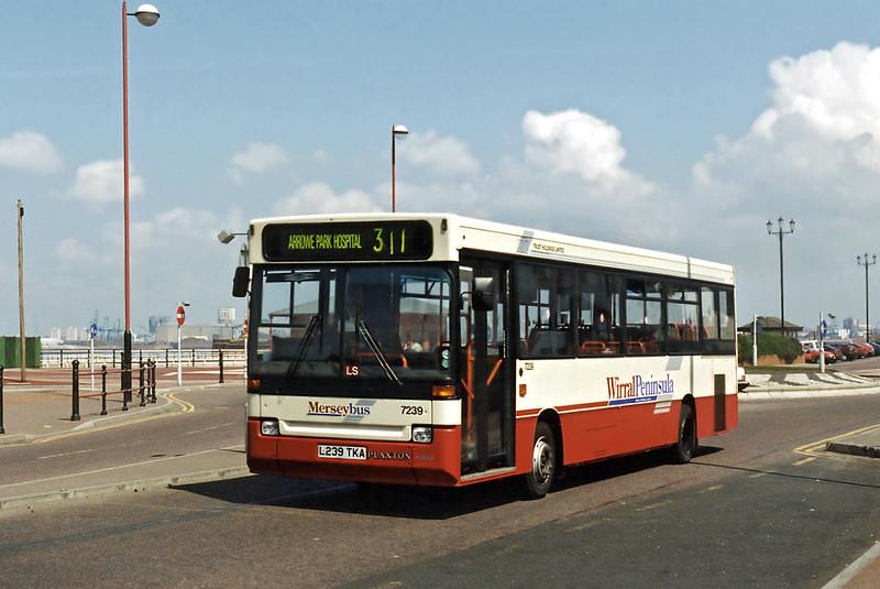 7239 L239TKA, New Brighton 13/5/1996