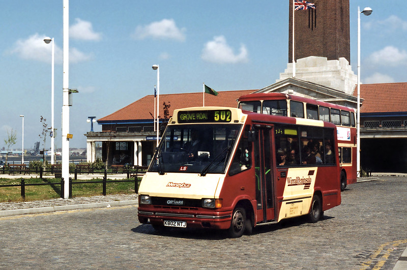 7802 K802NTJ, Seacombe Ferry 13/5/1996