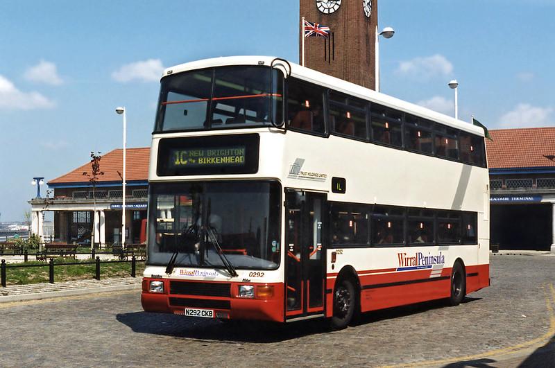 0292 N292CKB, Seacombe Ferry 13/5/1996