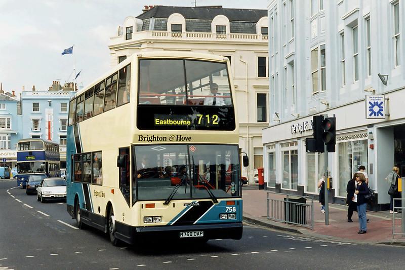 758 N758OAP, Brighton 13/8/1996