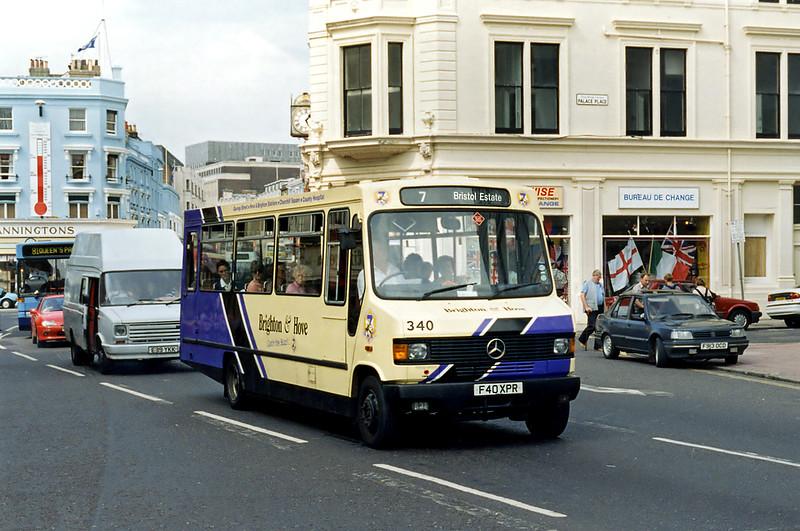 340 F40XPR, Brighton 13/8/1996
