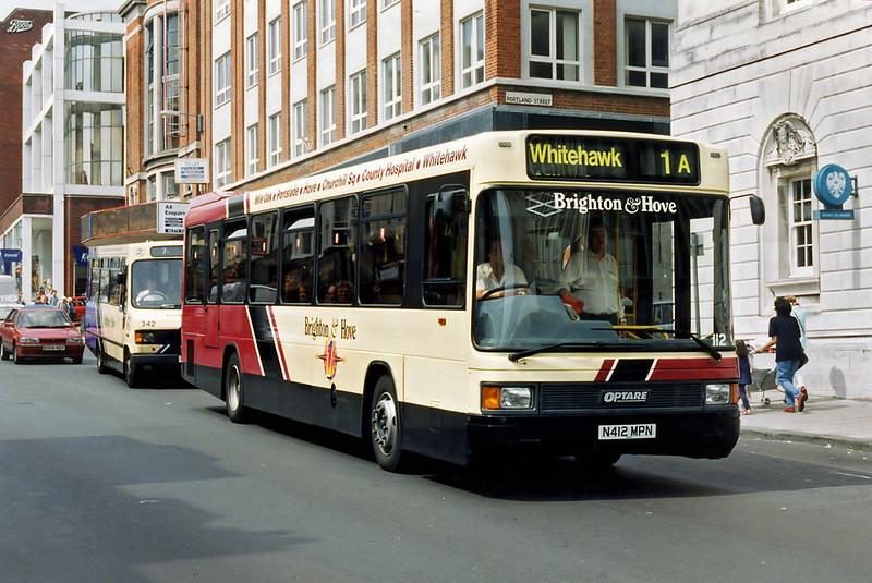 112 N412MPN, Brighton 13/8/1996