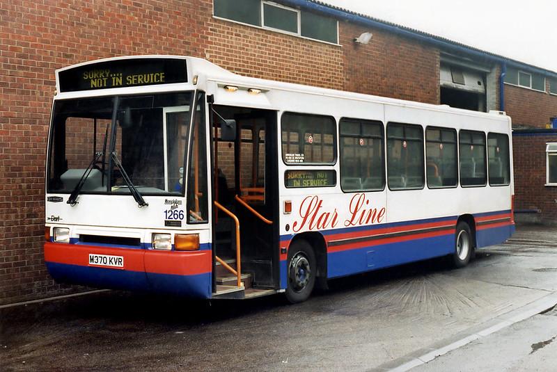 1266 M370KVR, Knutsford 14/4/1996
