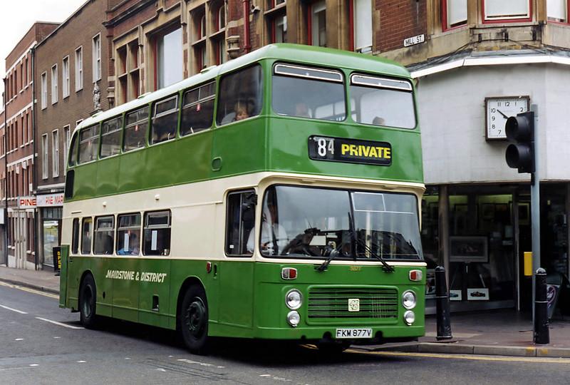 5877 FKM877V, Maidstone 14/8/1996
