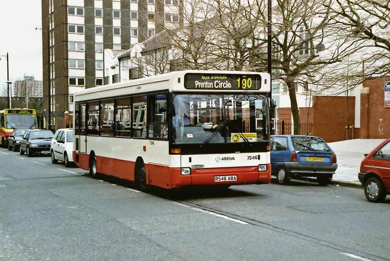 7546 R546ABA, Birkenhead 16/2/2000