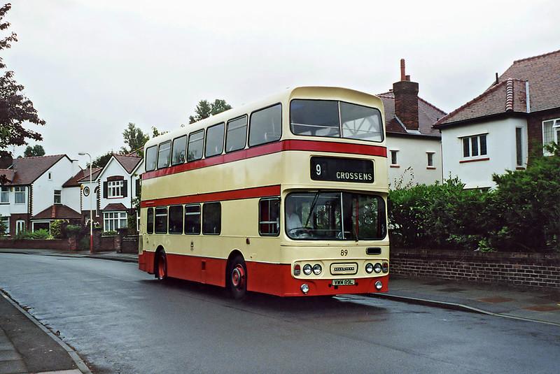 89 VWM89L, Hillside 18/8/2001