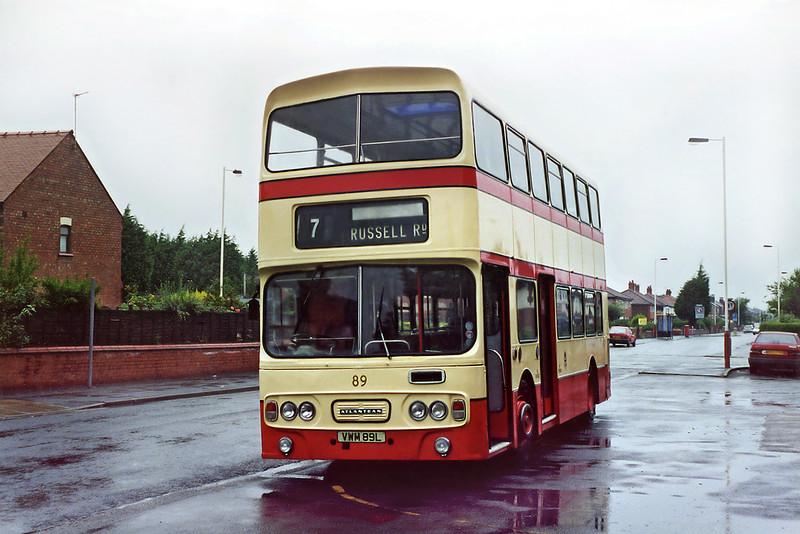 89 VWM89L, Blowick 18/8/2001