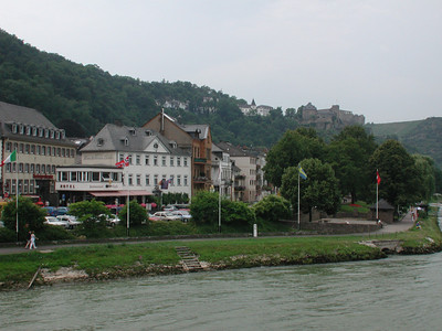 About an hour and a half later we arrived at our final destination of St. Goar.