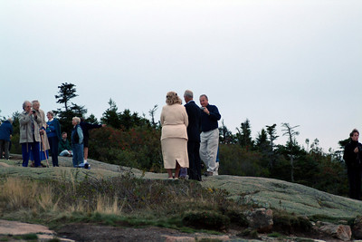 While waiting for the sunset, a group of people arrived and we soon realized it was a wedding.  I wish we would have done something like this!