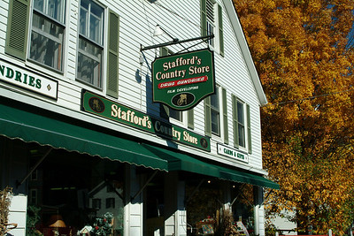Stowe is pretty small (it has 1 traffic light) and has the typical collection of small New England town stores.