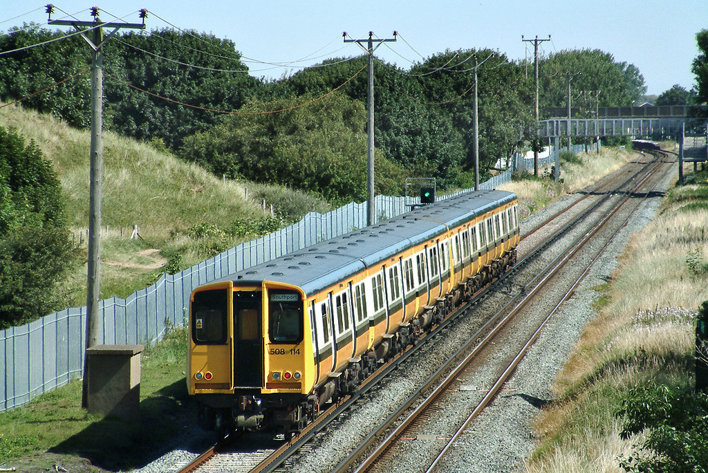 508114 and 508134, Woodvale 3/8/2003