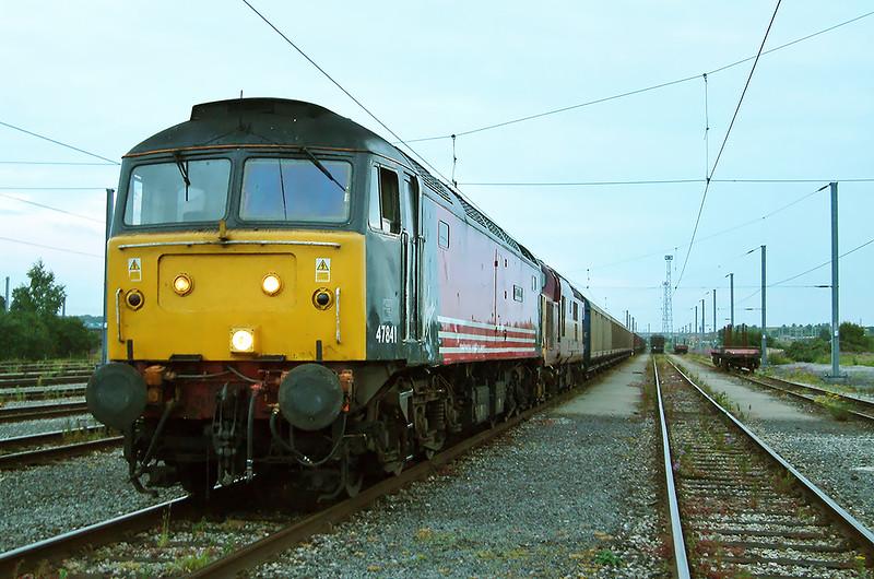 47841 and 37669, Carlisle Kingmoor 9/7/2003