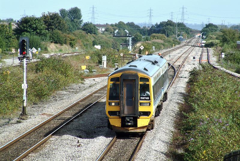 158749 Severn Tunnel Junction 12/9/2003