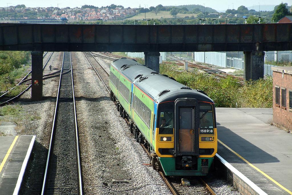 158958 Severn Tunnel Junction 12/9/2003