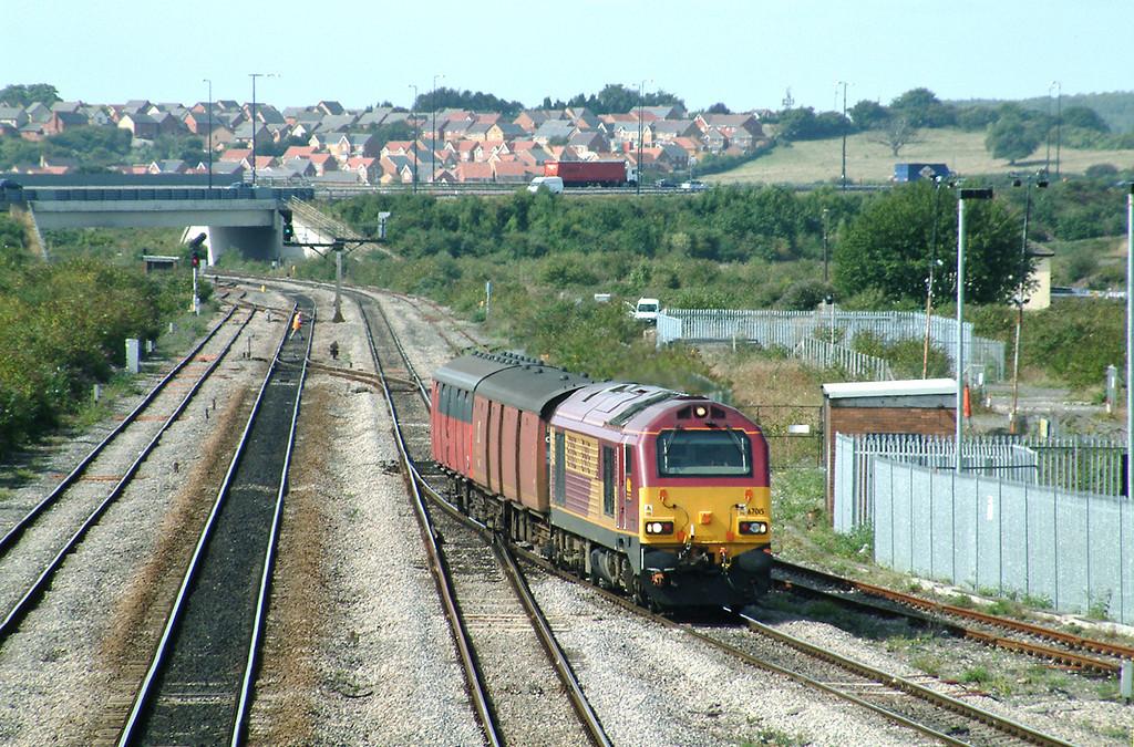67015 Severn Tunnel Junction 12/9/2003