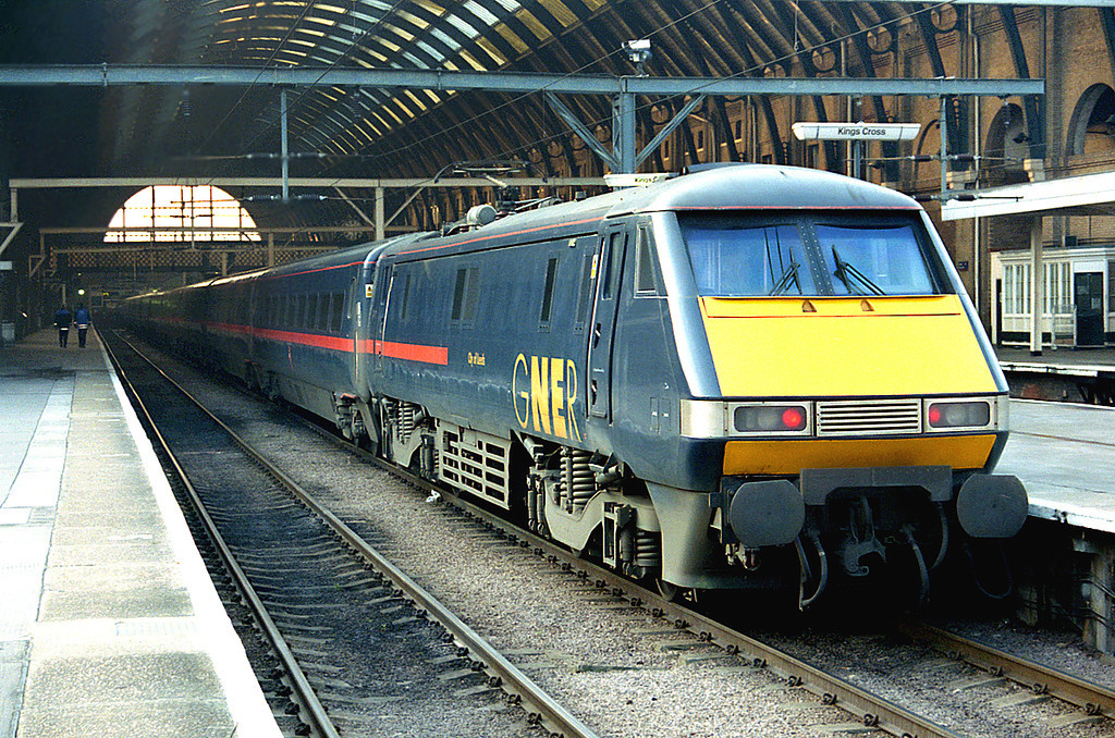 91108 London Kings Cross 14/2/2003