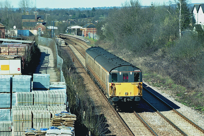 205012 Edenbridge Town 14/3/2003