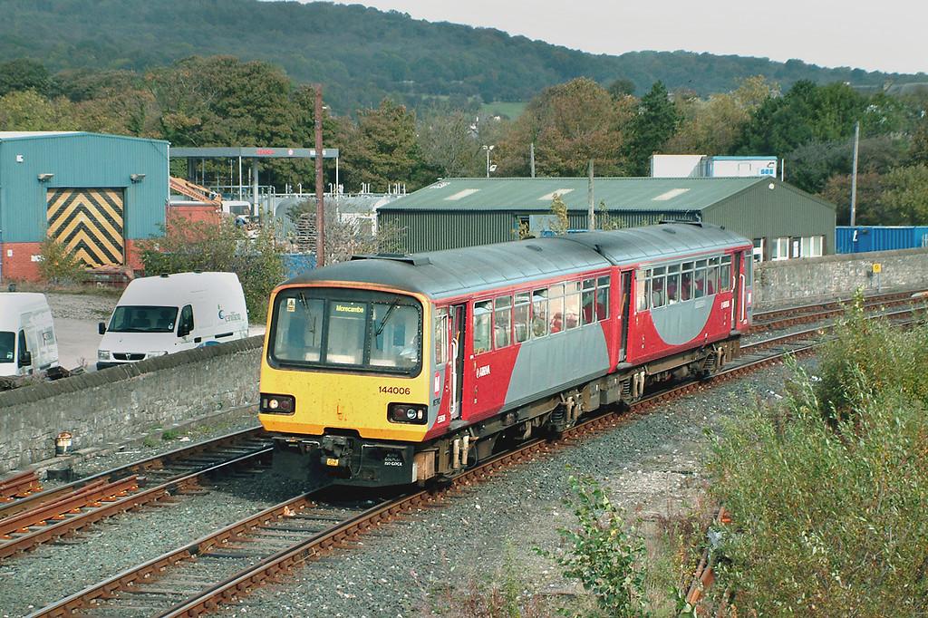 144006 Carnforth 14/10/2003