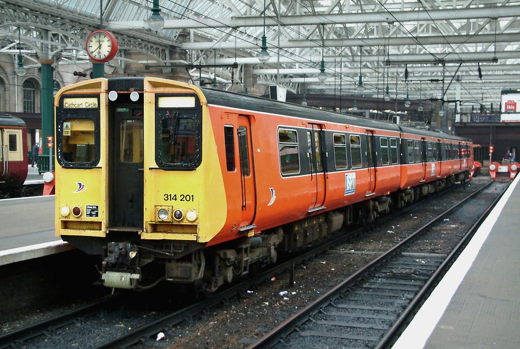 314201 Glasgow Central 16/9/2003