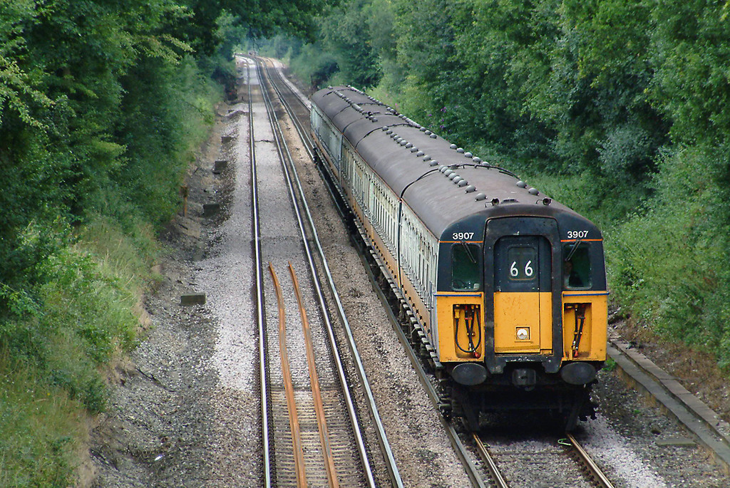 3907 and 3912, Crowhurst 24/7/2003
