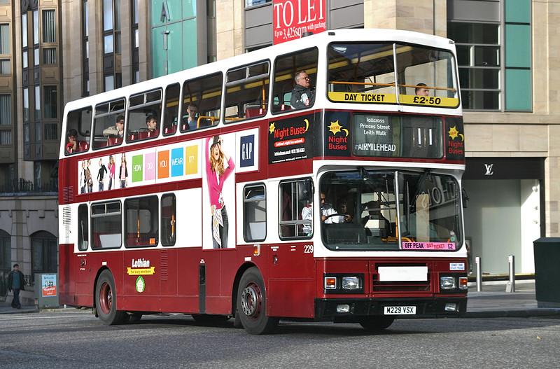 229 M229VSX, Edinburgh 5/10/2004