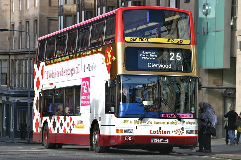 685 SN04ADX, Edinburgh 5/10/2004
