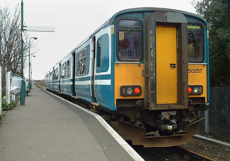 150257 Sheringham 16/3/2004