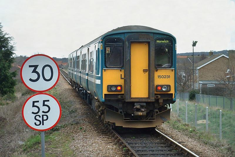 150231 Sheringham 16/3/2004