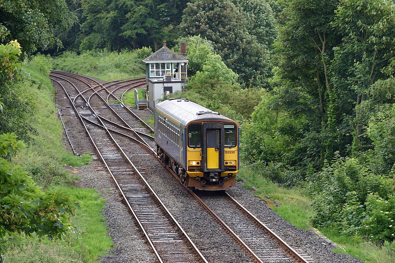 153330 Dalton Junction 18/6/2004