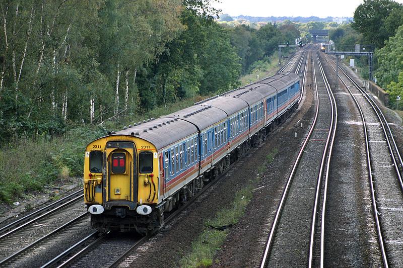 2311 and 3539, Weybridge 18/10/2004