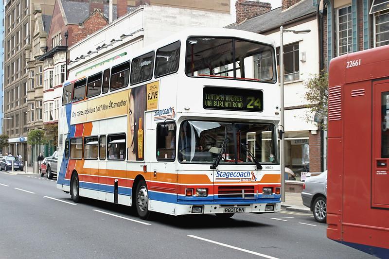 16831 R831OVN, Middlesborough 20/7/2004