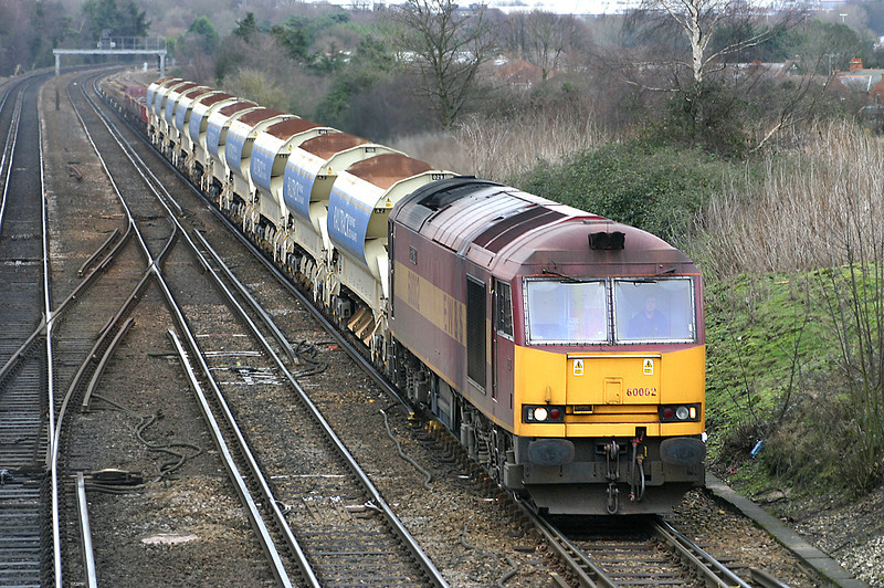 60002 Worting Junction 20/12/2004
